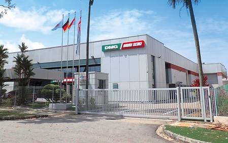 DMG / MORI SEIKI Technology Center in Singapore.