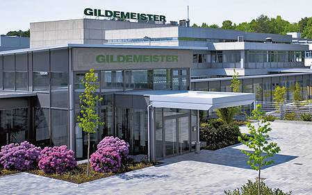 GILDEMEISTER AG head office in Bielefeld
