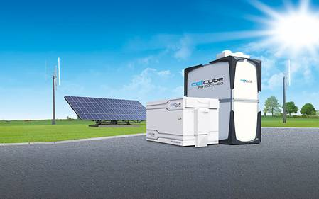 "The large battery ""CellCube"""