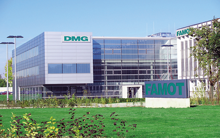 FAMOT Pleszew S.A. in Poland and the new production facility of DECKEL MAHO Geretsried